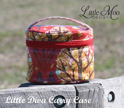 Bombshell and Little Diva Carry Case