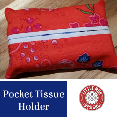 pocket tissue cover freebie pattern