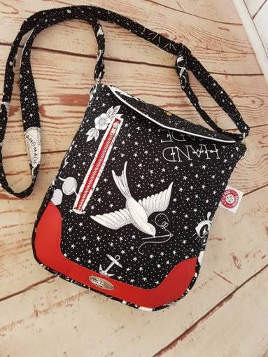 Ziggy Shoulder Bag PDF pattern by little moo designs
