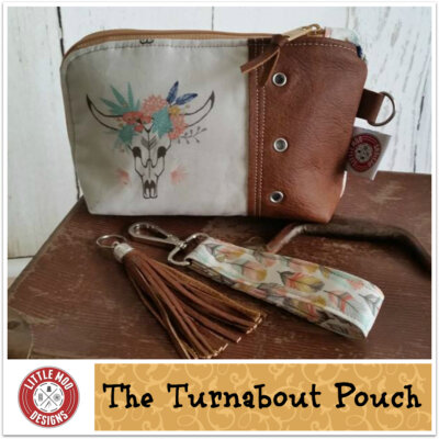 turn about pouch pattern