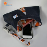 the origami bag and petite clutch pattern