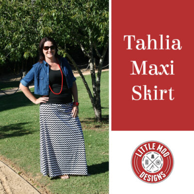 tahlia maxi skirt ladies pattern