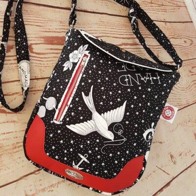 Ziggy Shoulder Bag PDF pattern by little moo designs