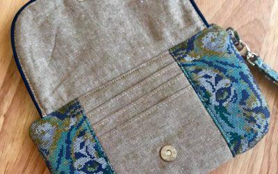 Wanderer's Clutch Sew Along – Day 2.