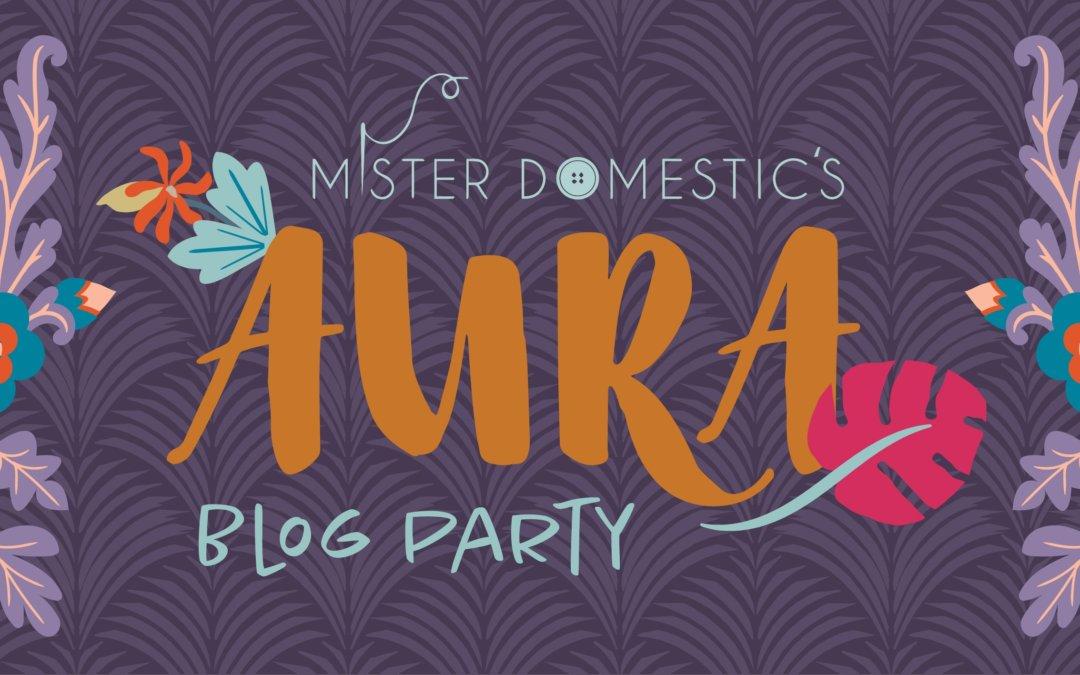 Mister Domestic Blog Party Aura Fabric Range.