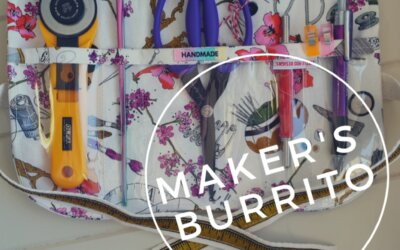 The Maker's Burrito – Free sewing project!