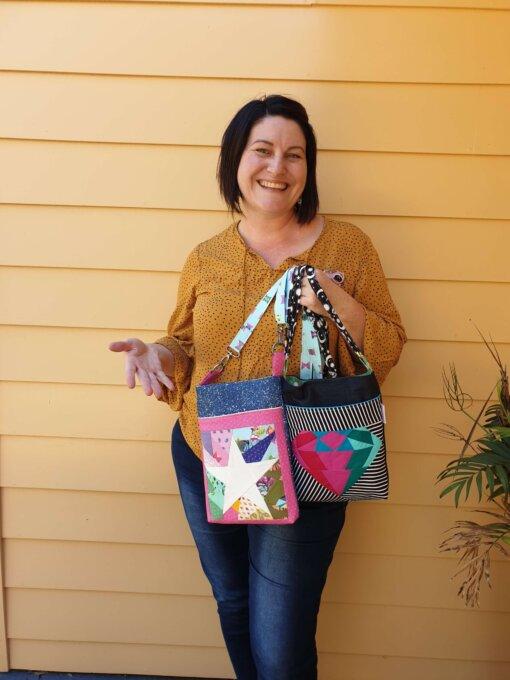 Calathea Crossbody Bag Pattern is now LIVE