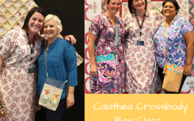 Teaching at Quiltopia 2019.