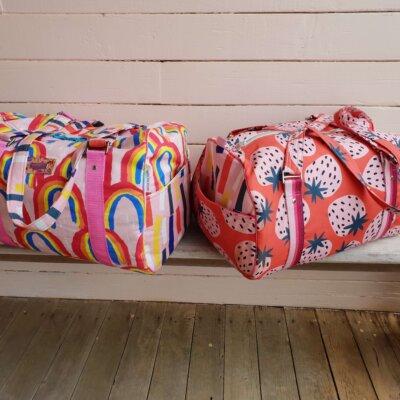 Stacks On Duffle Bag