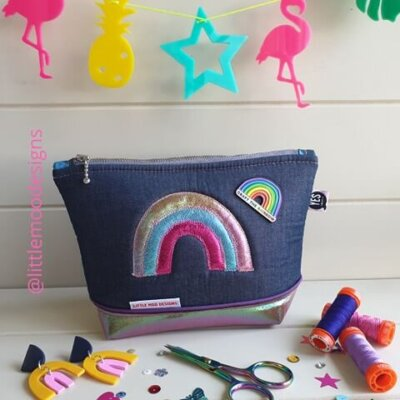 Rainbow applique