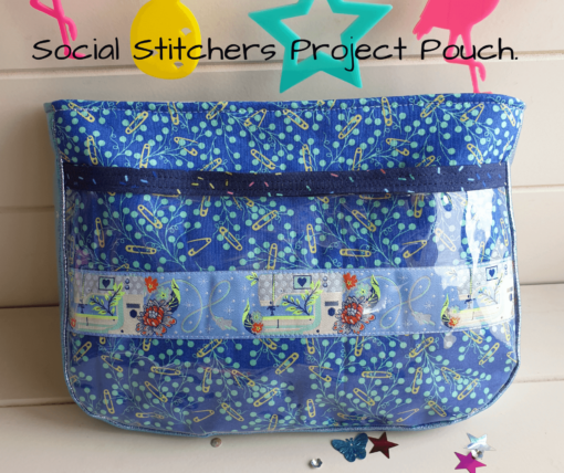 Social Stitchers Project Pouch