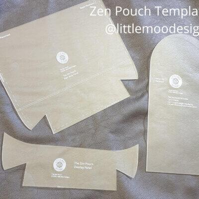 Zen Pouch Acrylic Templates
