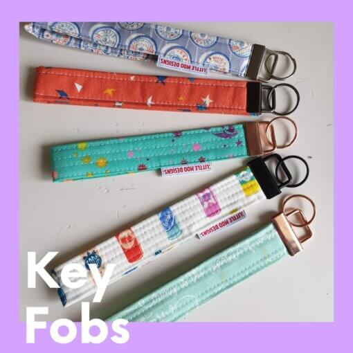 Example of Key Fobs completed.