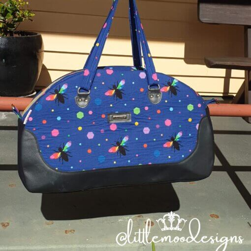 Queen Bee Bowler Bag