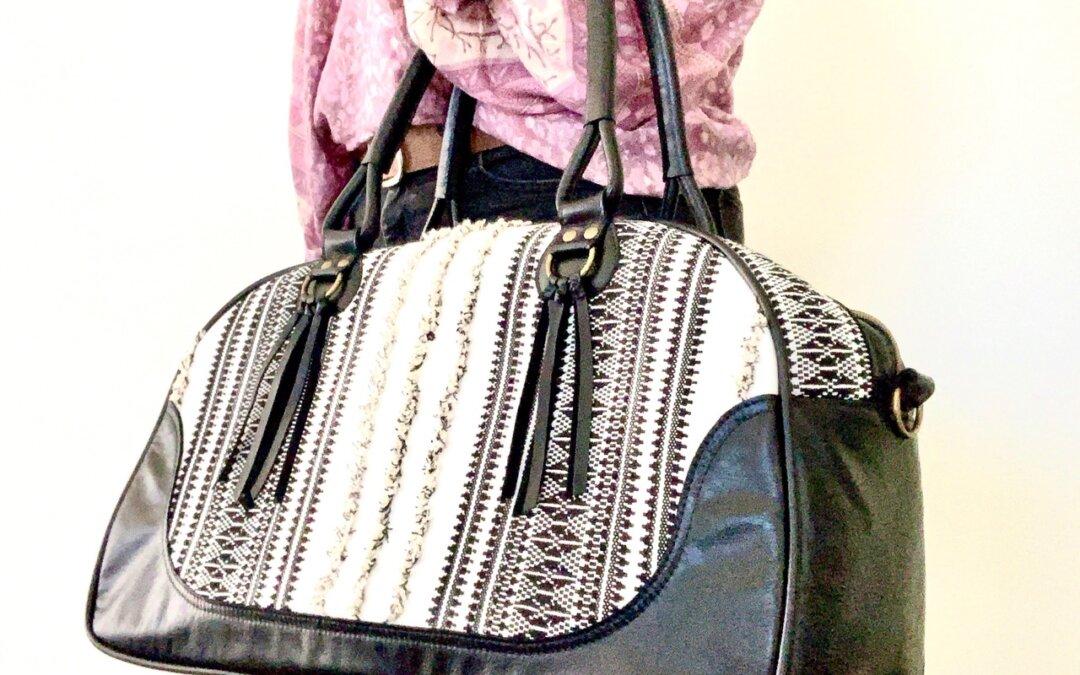Queen Bee Bowler Bag