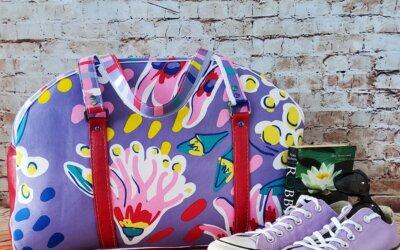 LMD Maker's Spotlight with Tessuto Bags.