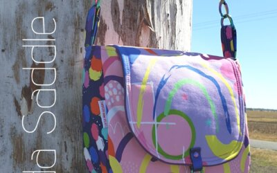 Matilda Saddle Bag Sewalong – what you need to get started.
