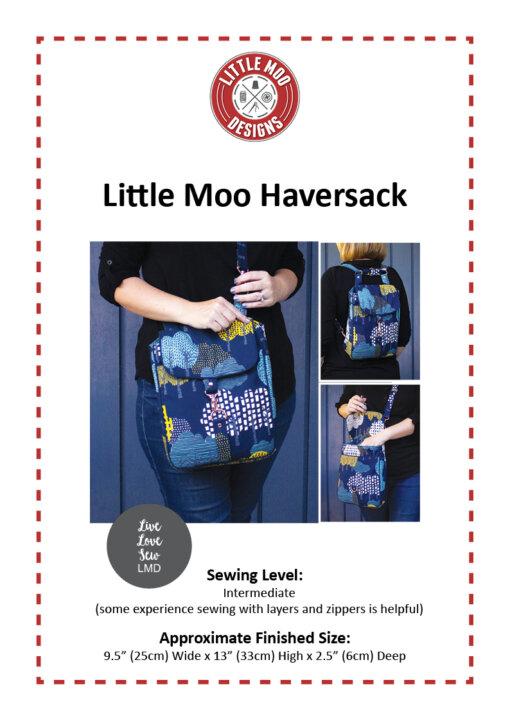 Little Moo Designs Little Moo Haversack Bag