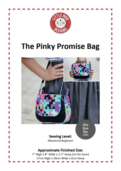 Little Moo Designs Pinky Promise Bag