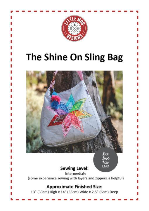 Little Moo Designs Shine On Sling Bag