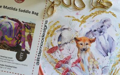 Matilda Saddle Bag Sewalong – Day 1.